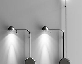 Art Deco Led Bedside Wall Lamp 3D