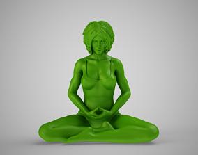 3D print model Yoga Woman