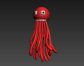 3D Mr Squid