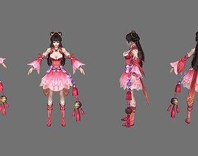 3D model VR / AR ready fairy