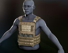 Crye Cage VEST 3D asset