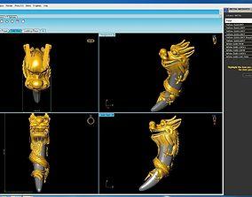 illustration dragon 3D print model