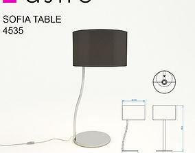 3D model Astro Sofia Table 4535