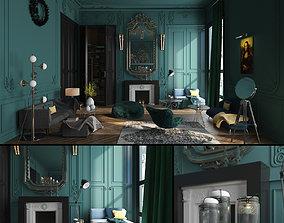 3D lounge Paris Luxury House