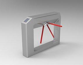 3D Tripod Turnstile Toll Gate
