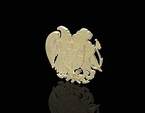 arms of Armenia 3D print model