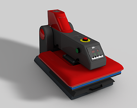 Automatic Flatbed Heat Press Machine 3D