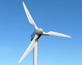 tribune 3D model wind turbine
