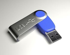 USB Flash Drive 3D model files