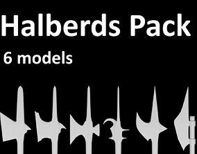 Halberds Pack 3D printable model