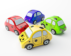 Toy Car baby 3D asset