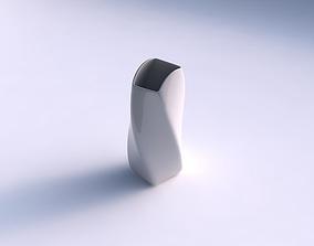 3D print model Vase twisted arc quadratic smooth