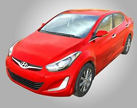 Hyundai Elantra 2016 3D asset