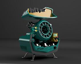 3D print model PACK A PUNCH DIE MASCHINE DE BLACK OPS COLD