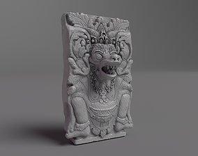 3D model Bali Temple Sculpture