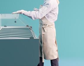 3D model Mia 10071 - Supermarket Woman