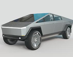 3D Tesla Cybertruck obj