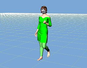 3D Hackeno the hacker girl