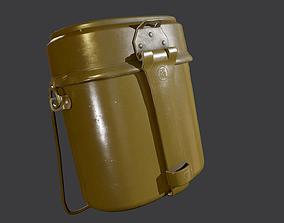 3D model Army mess kit USSR