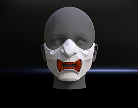 3D printable model Oni Mask Ghost of Tsushima Mask 1