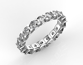 3D printable model Eternity diamond ring