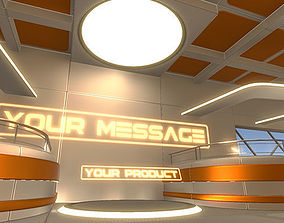 3D Showroom Level Kit Vol 3 VR / AR ready