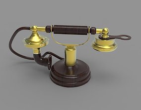 3D classic Old Phone