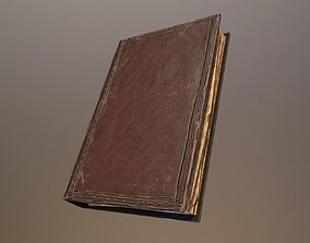 3D model realtime Old Book