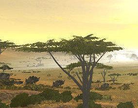 3D Africa Savanna Pack v1