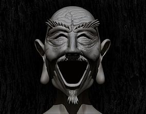 3D printable model Isaac Netero bust