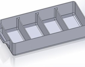 3D printable model Pullout Parts Tray