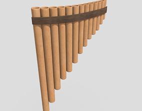 3D asset Panpipe