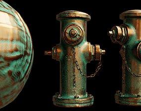 Copper Material Procedural 3D model