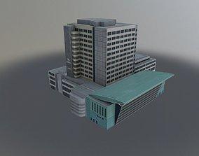3D asset Innsbruck Tourist Center