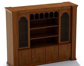 Wooden Storage Cabinets 3D model