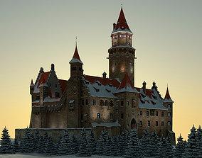 Castle shield 3D