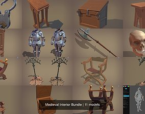 Medieval Interior Bundle 3D model