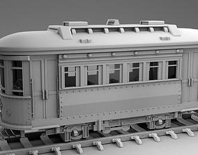 Train car 3D print model