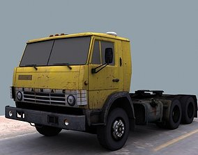 Kamaz 5410 3D asset game-ready