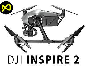 3D DJI Inspire 2