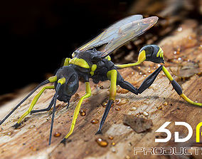 ant 3D Wasp Insects
