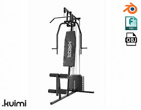 3D Gym Equipment 002