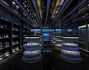 Disco bar KTV Entertainment Night club Stage A030 3D