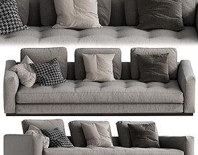3D model Minotti Andersen Line Quilt