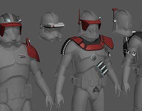 3D printable model Clone Armor Accessories Pack
