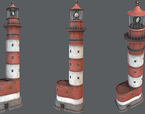 Lighthouse PBR 3D model