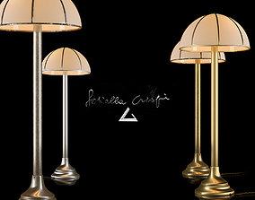 Floor Lamp Fungo by Gabriella Crespi 3D asset