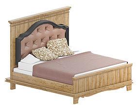 3D Classic bed furnishing