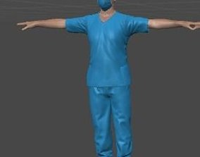 3D model Doctor and Nurse