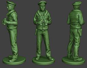 3D printable model US Navy Officer ww2 Binoculars